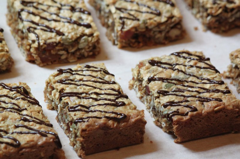 Tropical Muesli Squares