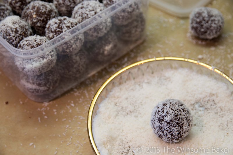 Apricot Almond + Chocolate Bliss Balls -6