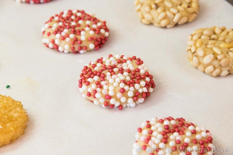 Simple Almond Cookies-3