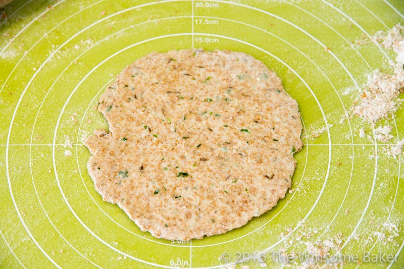 Cumin + Herb Flat Breads -7
