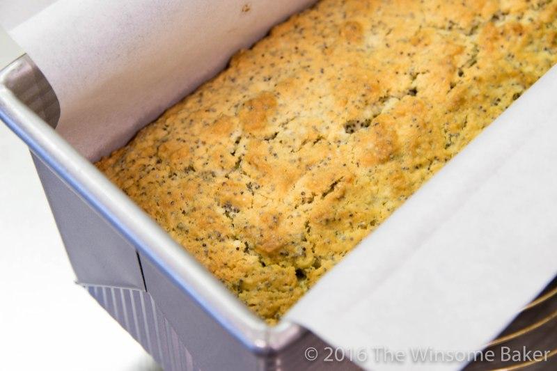 Sticky Lemon + Poppyseed Loaf -5
