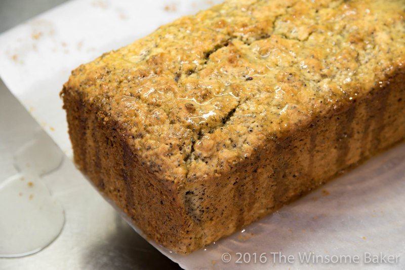 Sticky Lemon + Poppyseed Loaf -6