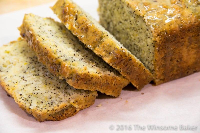 Sticky Lemon + Poppyseed Loaf -7